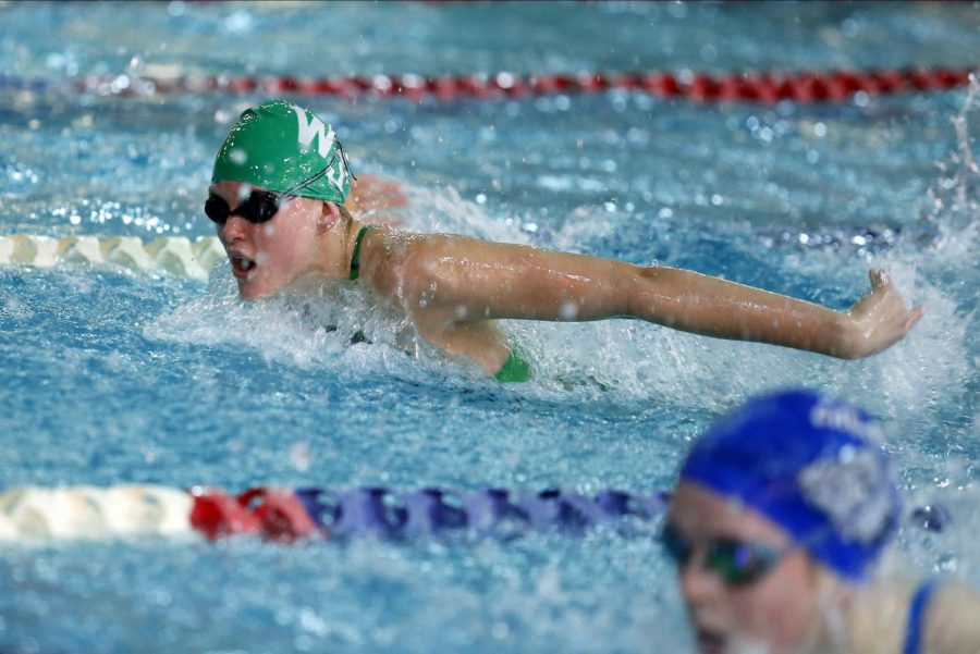 Q&A with state champion swimmer Molly Benson