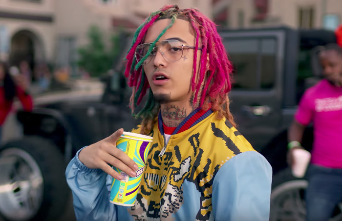 Lil Pump is one rapper with a younger audience whose influence is largely centered around his drug use while staying popular. Image courtesy of Wikimedia Commons