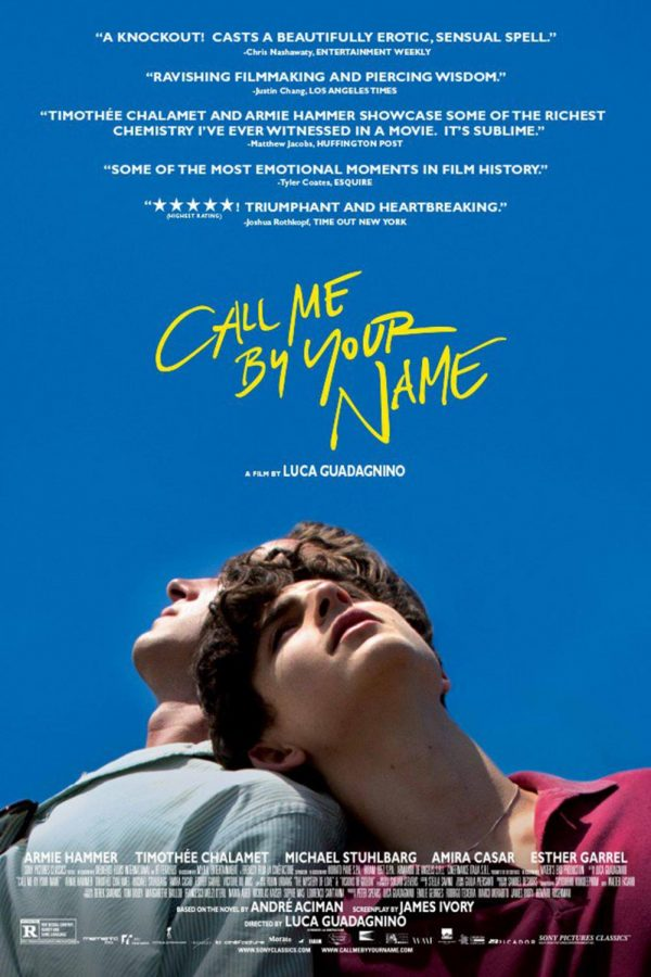 The CMBYN poster. Photo  credit: JoBlo.com