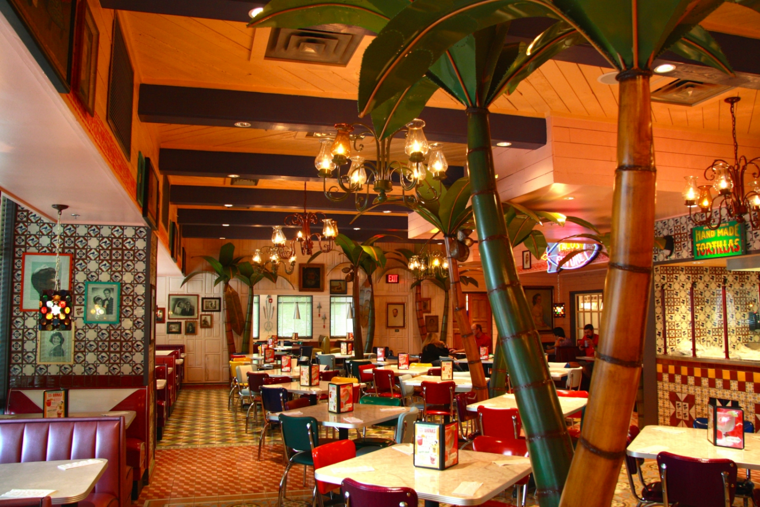 Chuy's eclectic decor offers a colorful and welcoming environment for any customer walking in. Photo by Austin Mucchetti