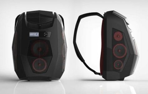 Catch: Backpack speakers fill WJHS
