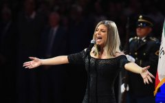 Fergie sings original version of National Anthem