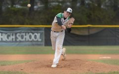 Senior Kyle Petersen throws a no hitter against Watkins Mill