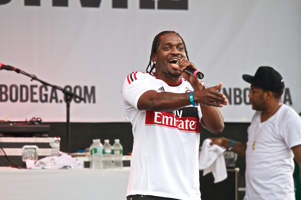 Pusha T responded to Drake's diss track