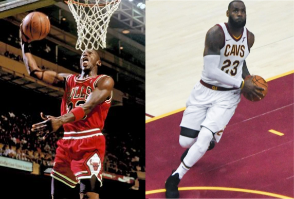 The debate over who the greatest basketball player of all time comes down to two players. It's time to find out who it really is. Photos courtesy of Wikimedia Commons