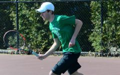 Boys' tennis closes out their season with many playoff victories