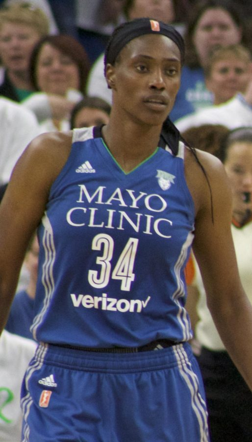 Sylvia Fowles, the 2017 MVP for the WNBA is one of many women's basketball players who seeks equal pay.