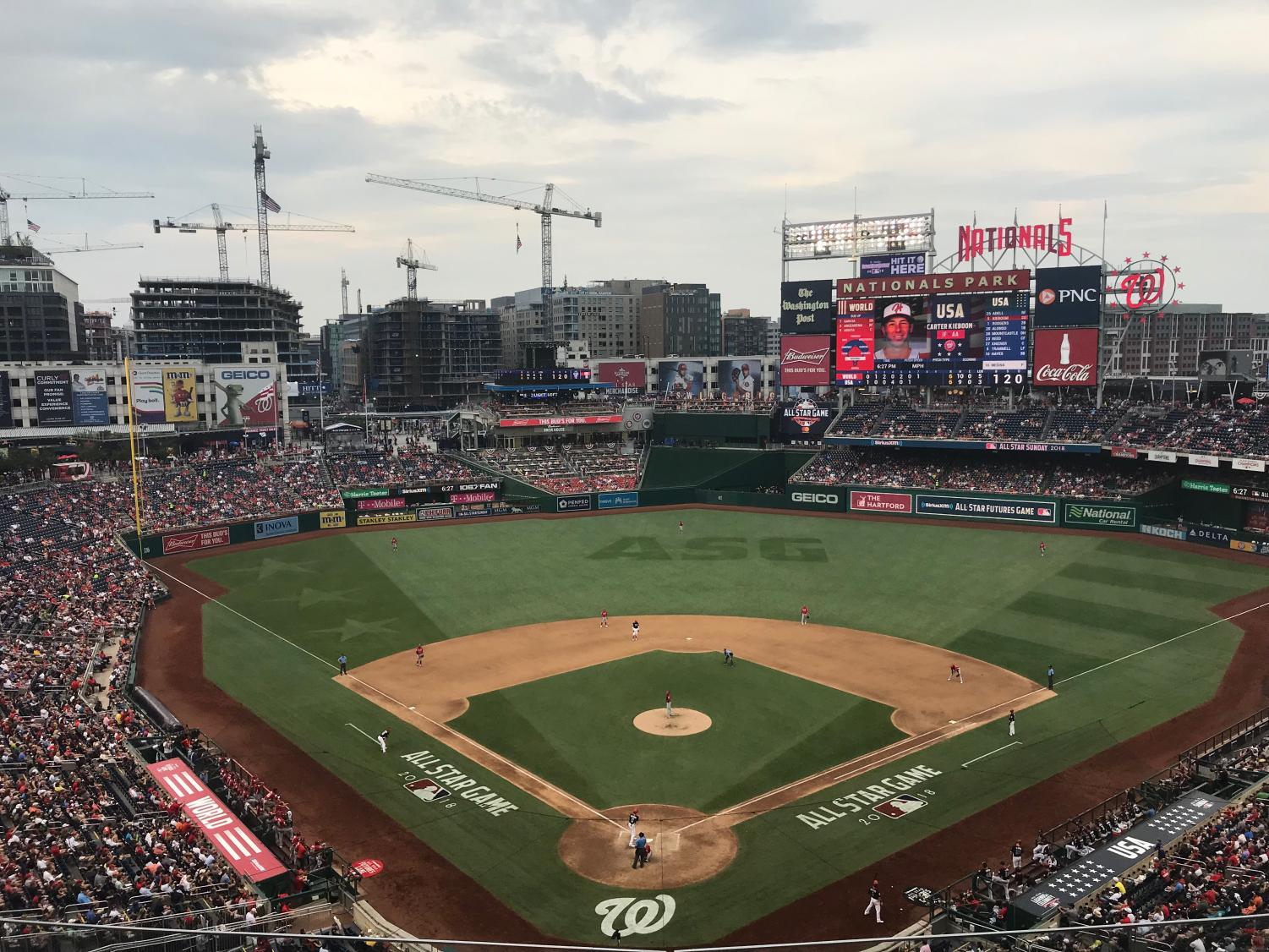Despite having decent players like Bryce Harper and Max Scherzer, and the temporary fame of hosting the 2018 All-Star Game, the Nationals didn't make the playoffs. The Nationals will have a long winter to think about what they did wrong and how they can improve for 2019.