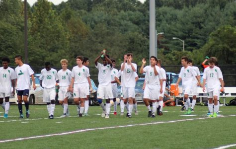 Boys' soccer finished their season with a 4-5-1 record. They lost their playoff game against Churchill 5-2.