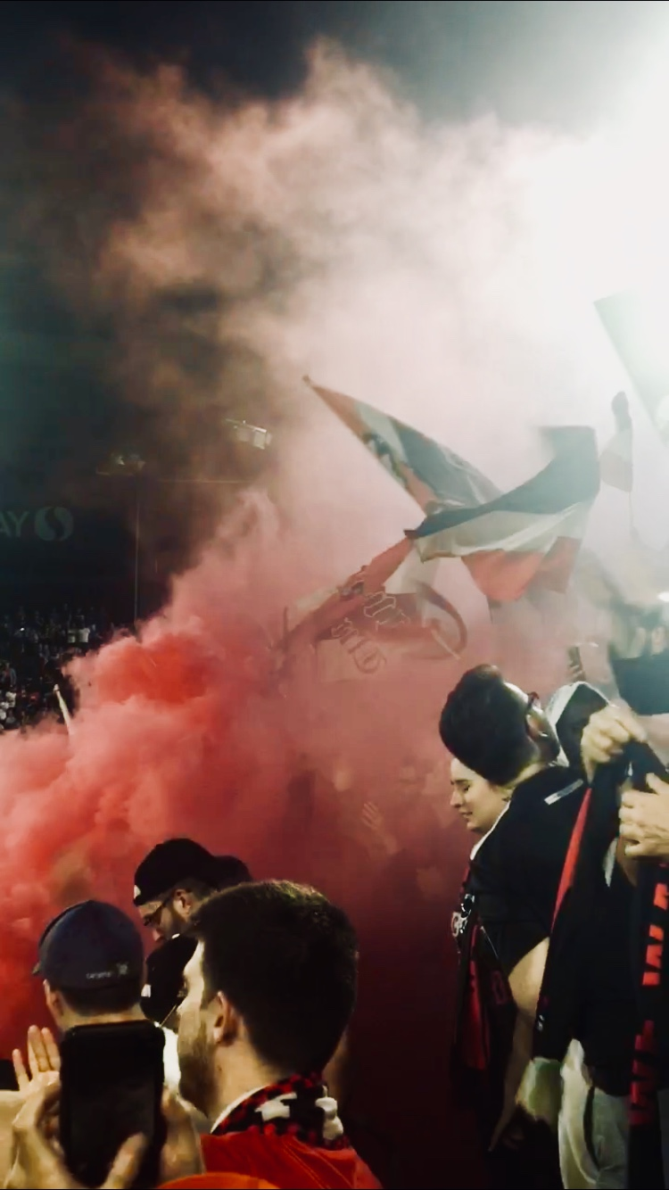 The fans have been electric since United's move to Audi Field. The team clinched the playoffs with a 3-1 win against NYCFC.