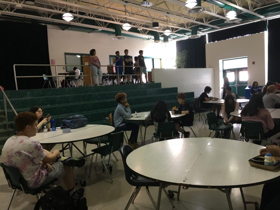 Sit With Us hosts first open lunch of the year