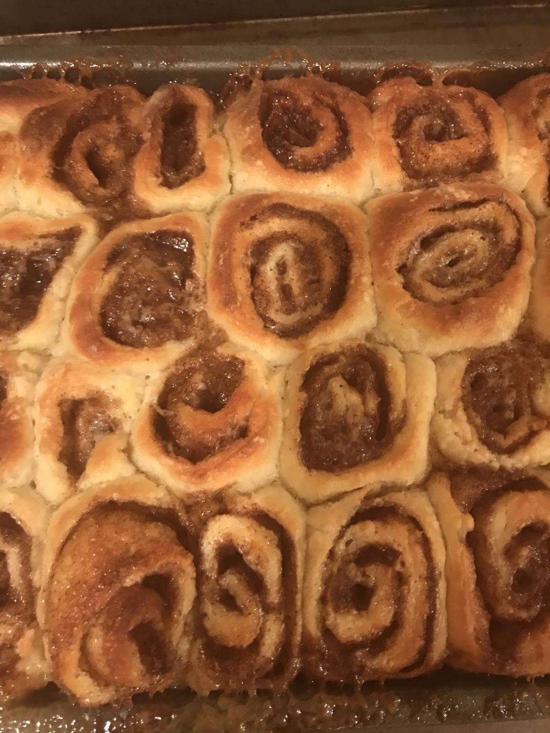 Cinnamon rolls are a delicious treat to get you in the fall spirit!