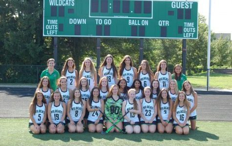 The WJ Field Hockey team poses for a group photo. They are looking to make a run in the playoffs this season.