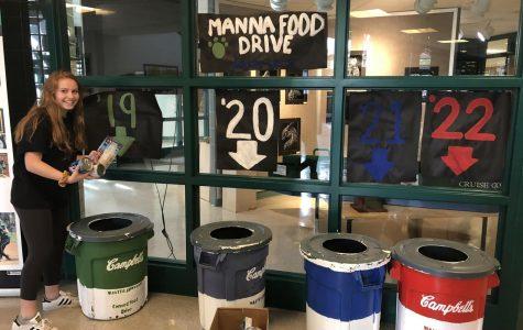 Leadership promotes Manna Food Drive