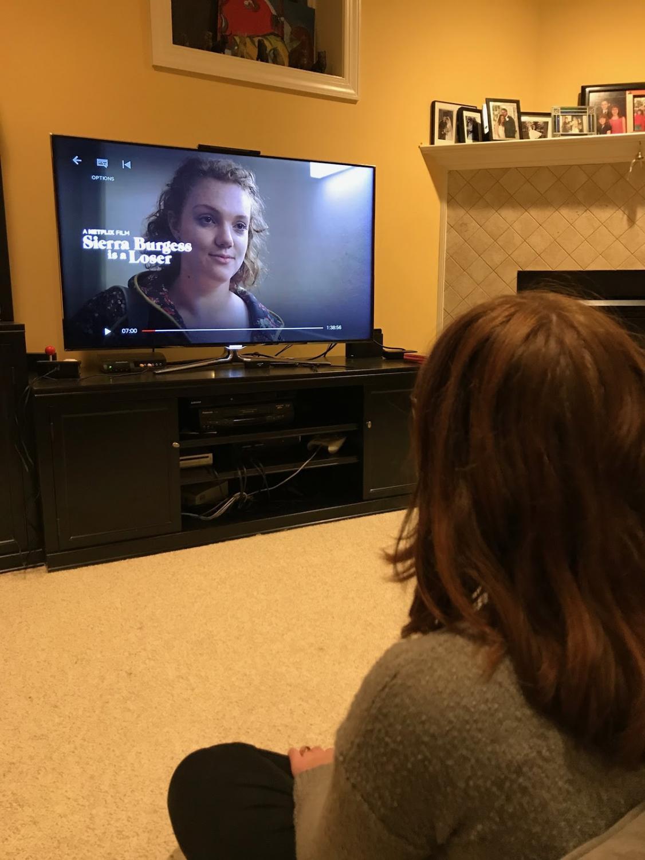 """Junior Ellie Flynn watches Netflix's new movie, """"Sierra Burgess is a Loser."""