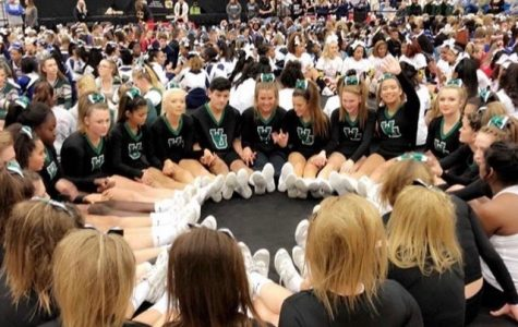 Varsity Cheer makes it to Regionals