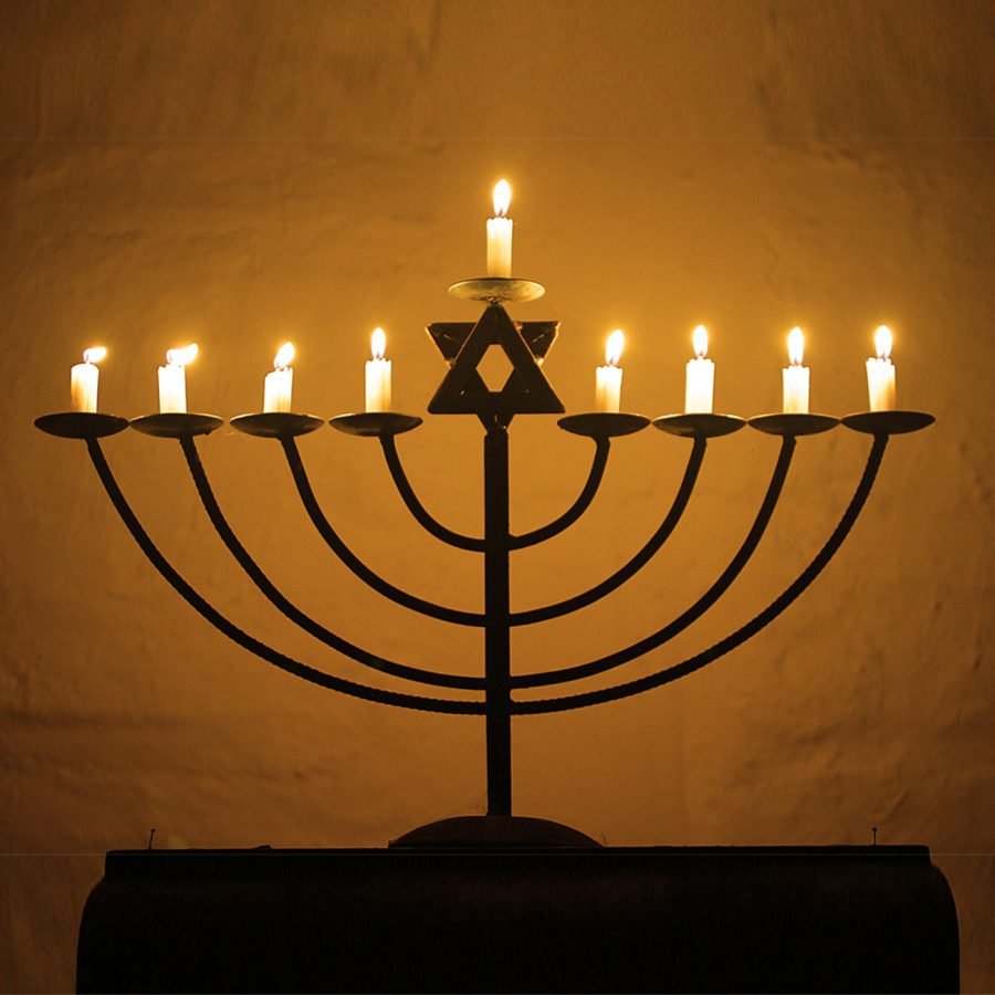 The+Hanukiah+has+been+lit+for+another+night+of+Hanukkah.+Many+families+in+the+Jewish+community+will+light+their+Hanukiahs+for+the+holiday+this+December.+