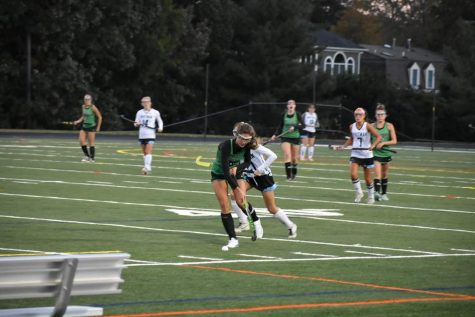 Junior Ally Hilligoss helping Walter Johnson get their 1-0 win over Whitman.