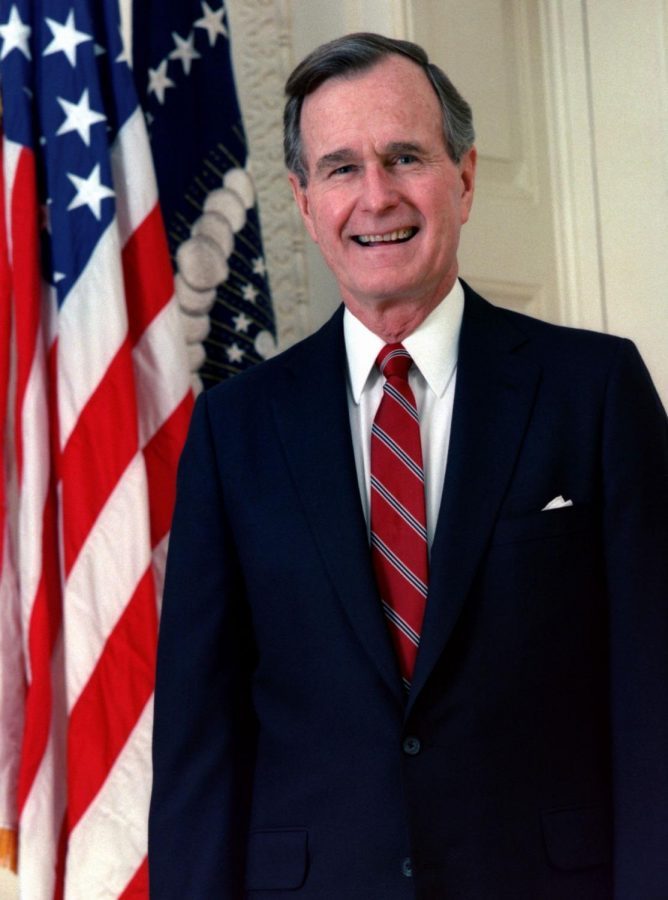 Bush+has+been+remembered+all+week+by+former+presidents+and+citizens+alike%2C+and+his+memorial+service+occurred+on+Wednesday%2C+December+5.