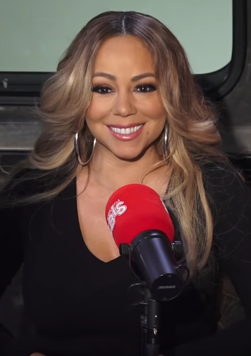 Mariah+Carey+during+an+Interview+on+New+Years.+