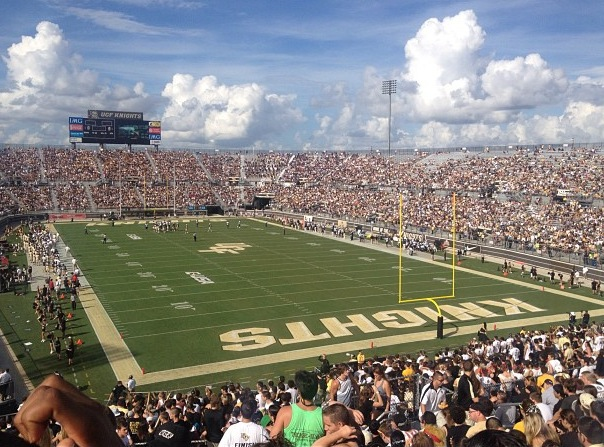 It%E2%80%99s+a+packed+house+at+Spectrum+Stadium+as+the+fans+of+UCF+gather+for+another+exciting+game.+The+Knights+won+the+game+45-14+against+Pittsburgh+extending+their+winning+streak+to+17+games.