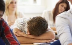 Students stricken by sleep deprivation