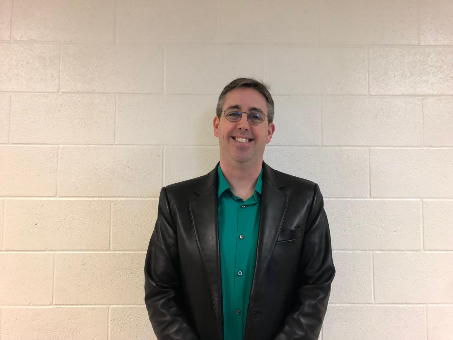 Science teacher Jamie Grimes loves both his alternative rock and country tunes. He gets his fair share of music from the radio stations that fit just what he wants to hear.