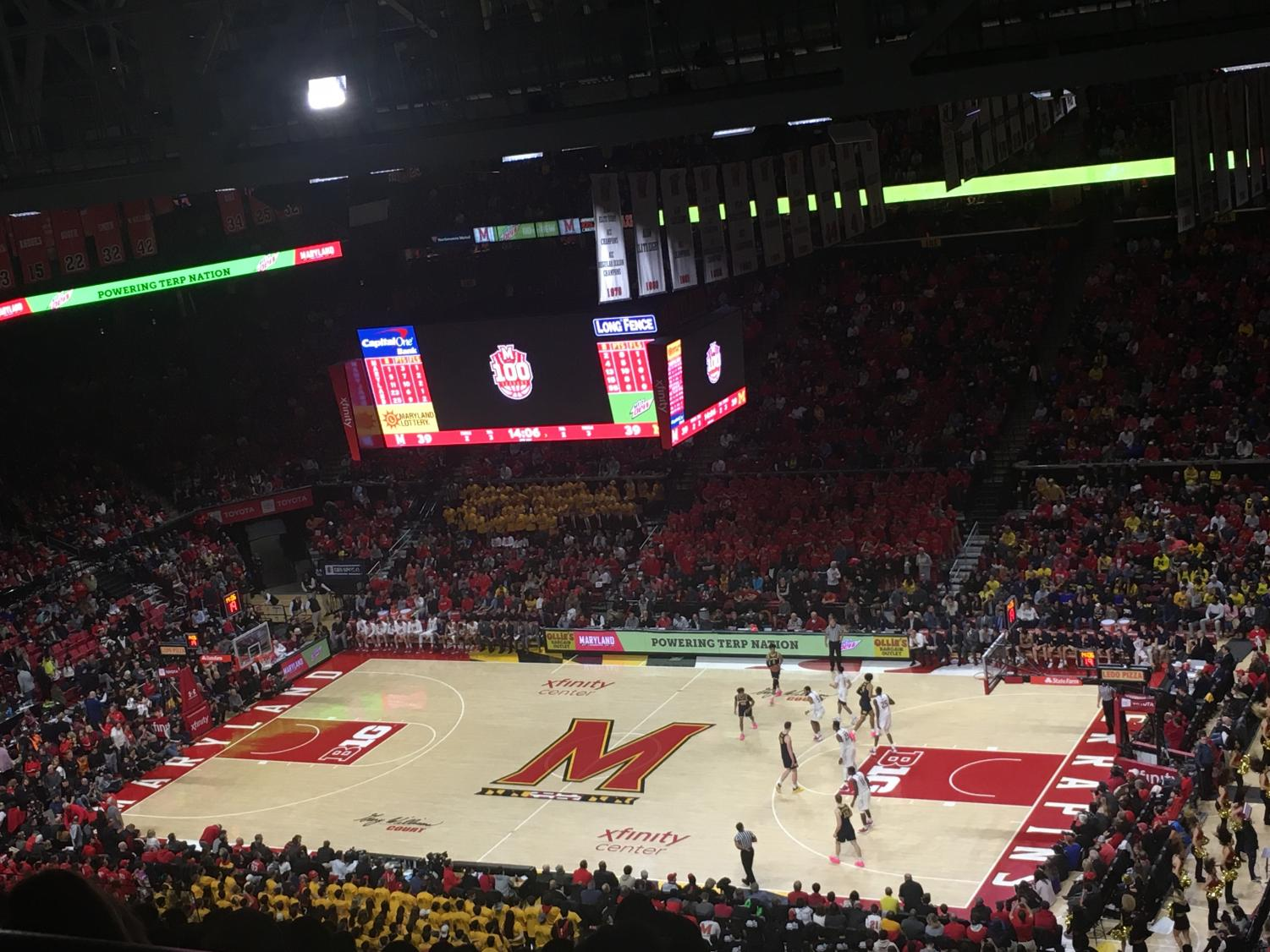 College basketball players such as the ones here in The Xfinity Center at the University of Maryland generate large revenue but don't get paid. Following the injury of Duke star Zion Williamson, debate over whether college athletes should be paid sparked up again.