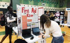 Health fair educates and entertains students