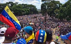 Crisis in Venezuela spurs mass protests