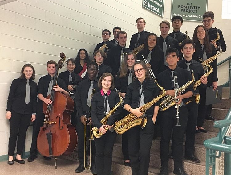 WJ+Jazz+Band+put+great+performances+together+as+they+played+at+the+Chantilly+Jazz+Invitational.+The+group+finished+third+overall+and+is+hoping+to+continue+their+success+next+school+year.+