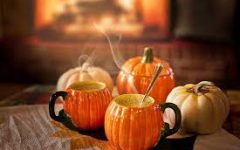 Warm drinks, pumpkins and coziness are enjoyed by WJ students to experience the essence of fall.