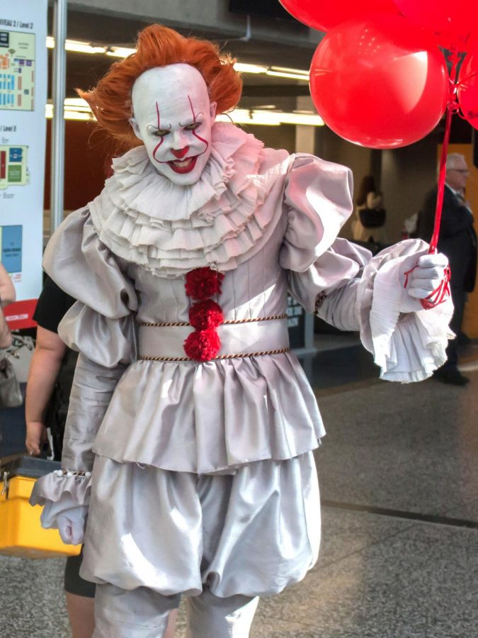 Pennywise+leaves+Derry%2C+Maine+and+infiltrates+local+mall.+Earlier+this+month%2C+theaters+were+filled+with+movie+fanatics+who+had+anticipated+the+next+installment+in+the+IT+series.