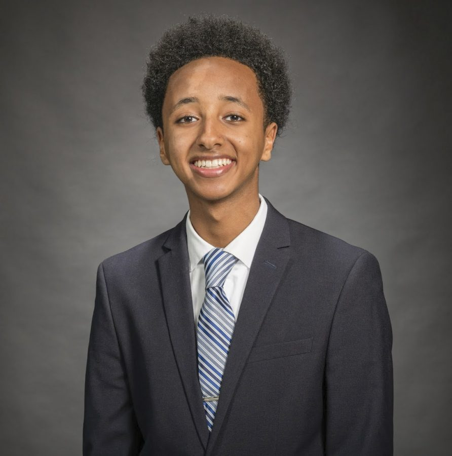 Nate Tinbite is the current student member of the MCPS board of education. Tinbite hopes to be able to give student athletes PE credit for participating in school-sponsored athletics.