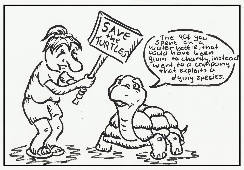 Comic by Bradley Woodside