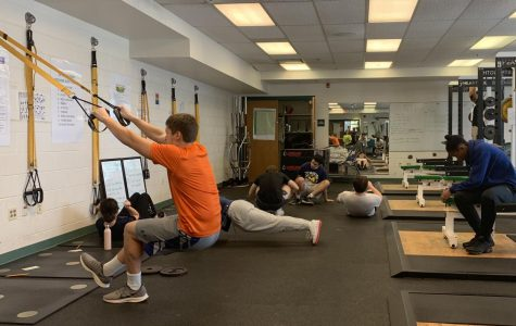 The Board of Education is currently considering implementing a bill to offer athletes a half credit for completing a season of a school sport. Doing so would allow athletes to be exempt from at least one semester of a P.E. class.