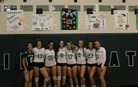 Girls come out on top against Kennedy High School on senior night. The girls won the match 3-0.