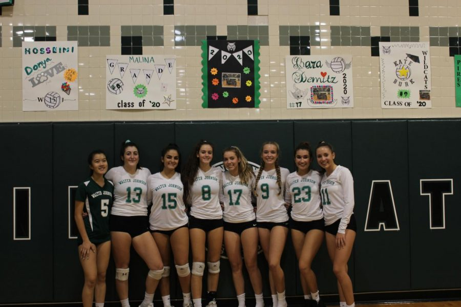 Girls+come+out+on+top+against+Kennedy+High+School+on+senior+night.+The+girls+won+the+match+3-0.