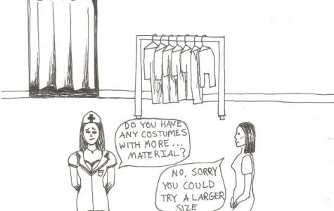 Women's Halloween costumes are overly sexualized