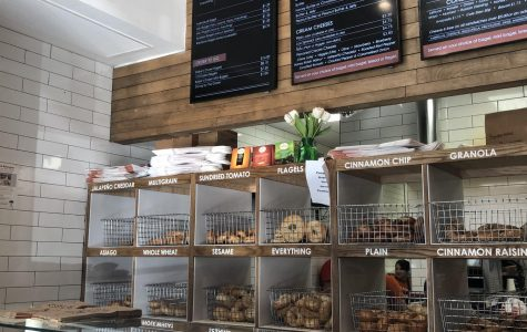 Bethesda Bagels offers a variety of bagel and sandwich options. The shop recently opened a new location in Wildwood Shopping Center.