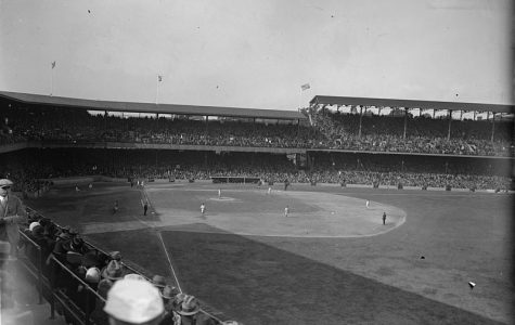 In a back to back appearance at the World Series in 1925, the Washington Senators home field of Griffith Stadium is filled with fans. In 2019, a similar spectacle could be found at Nationals Park when hoards of fans crowded the stadium to witness the first  World Series in Washington since 1933.