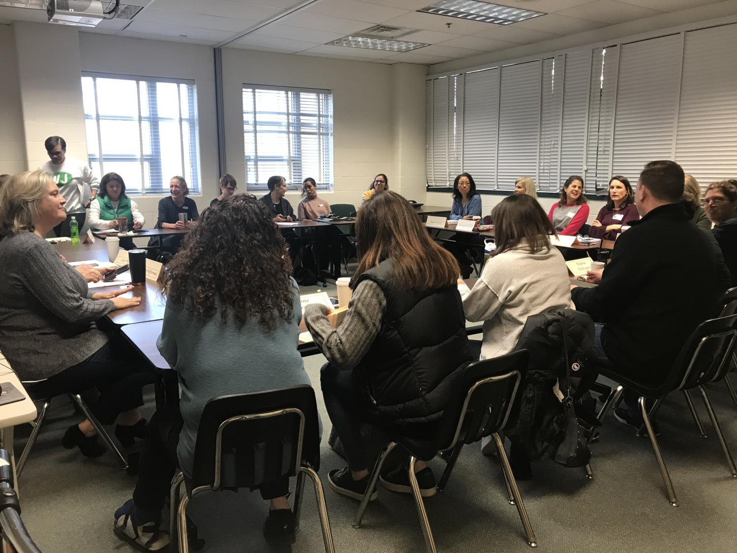 WJ Parents and the Administration meet up again to report what happened last month and how we could improve in the December 6th CAC meeting.