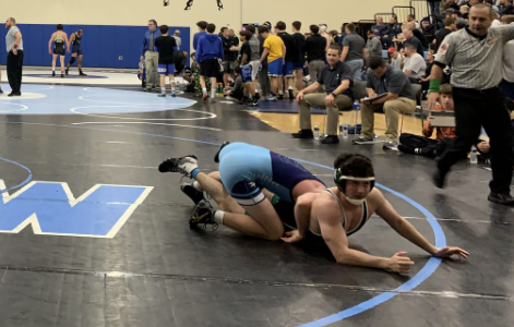 Wrestling pinned down by injuries