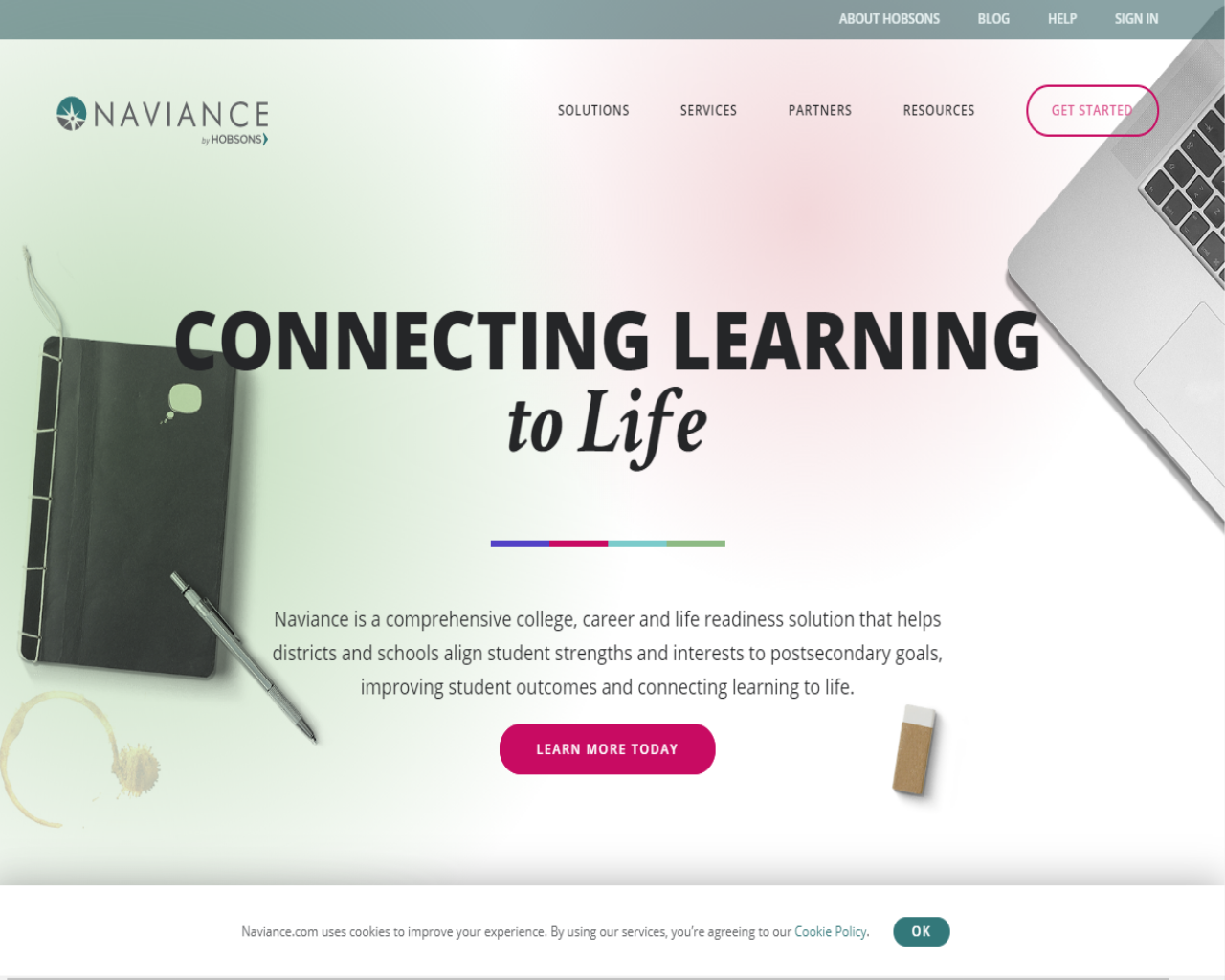 Naviance helps students plan for their post-secondary education life. Students at Walter Johnson have utilized Naviance for years now.