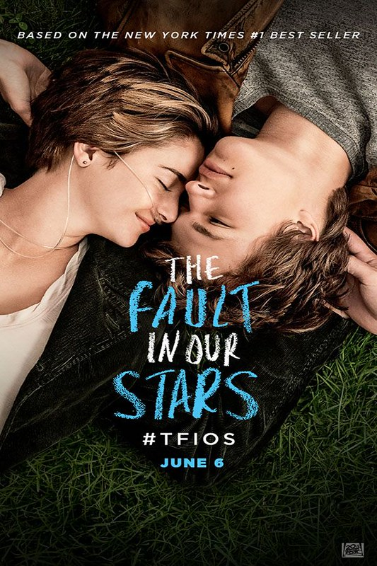 The+Fault+in+our+Stars+%282014%29+Movie+poster.+The+Fault+in+our+Stars+based+on+on+the+book+by+John+Green%2C+follows+two+cancer+patients+falling+in+love.