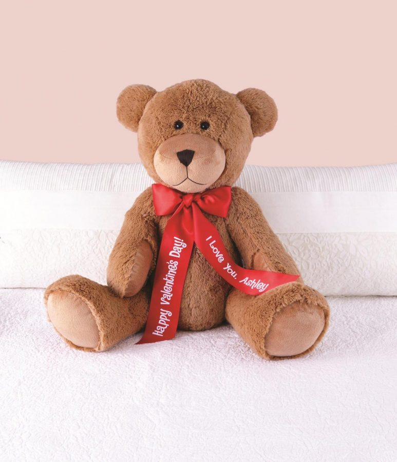 Although it may be non-traditional, getting a personalized stuffed animal at Build-A-Bear is a great way to show your loved one that you care about them.