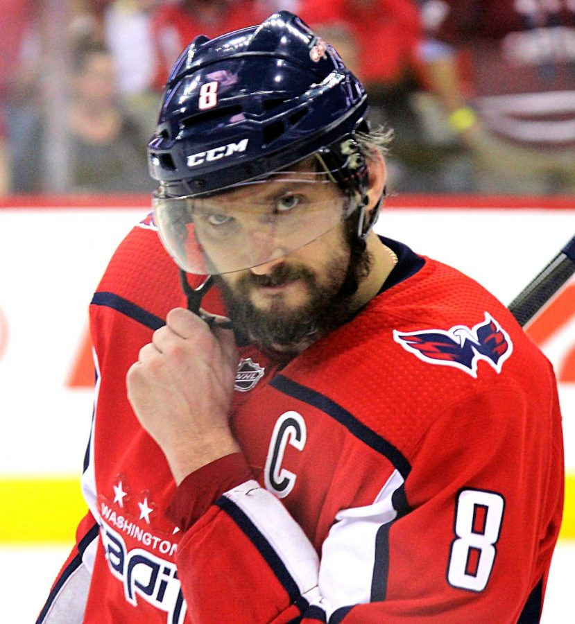 Ovechkin+recently+surged+into+the+goal+leader+in+the+NHL+with+his+hat+trick+vs.+the+Los+Angeles+Kings.+He+is+quickly+approaching+the+700+goal+mark%2C+and+continues+to+move+up+the+scoring+list.