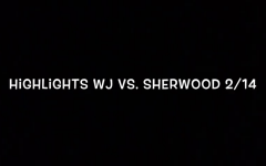 WJ Basketball vs. Sherwood 2/14