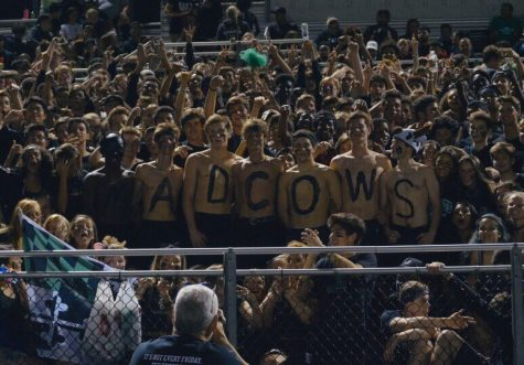 WJ students packed the senior section on September 27, 2019 in a blackout vs fierce rivals BCC. The game ended in a convincing 42-7 win for the Wildcats.