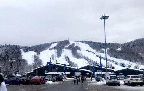 Upperclassmen hit the slopes